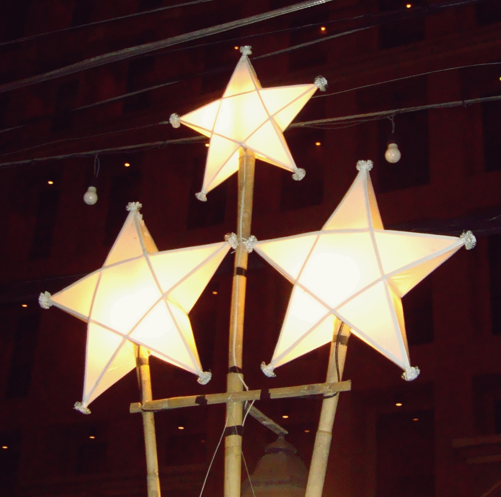 most filipinos try their best to own a parol during christmas i believe that this is the christmas decor that filipinos can proudly own