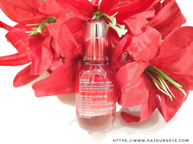 Review Mamonde Red Recovery Serum