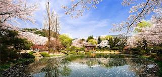 Paviliun Bomun, Gyeongju Wisata Korea Selatan