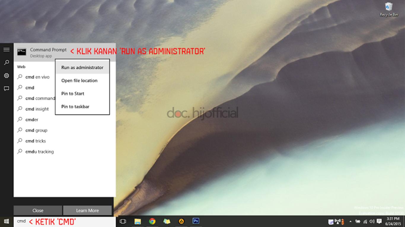 Cara Mudah Instalasi .NET Framework 3.5 Di Windows 10 (3)