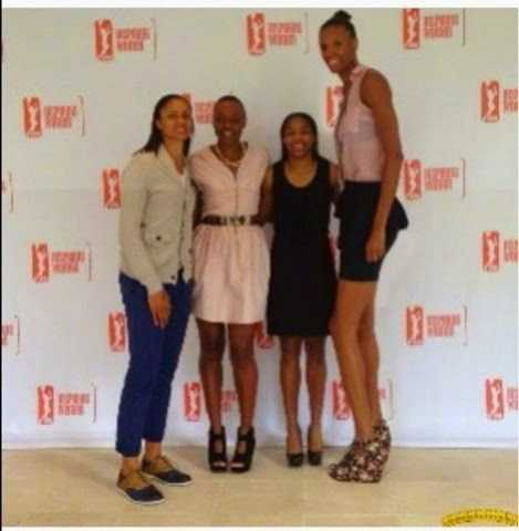 tallest women in africa