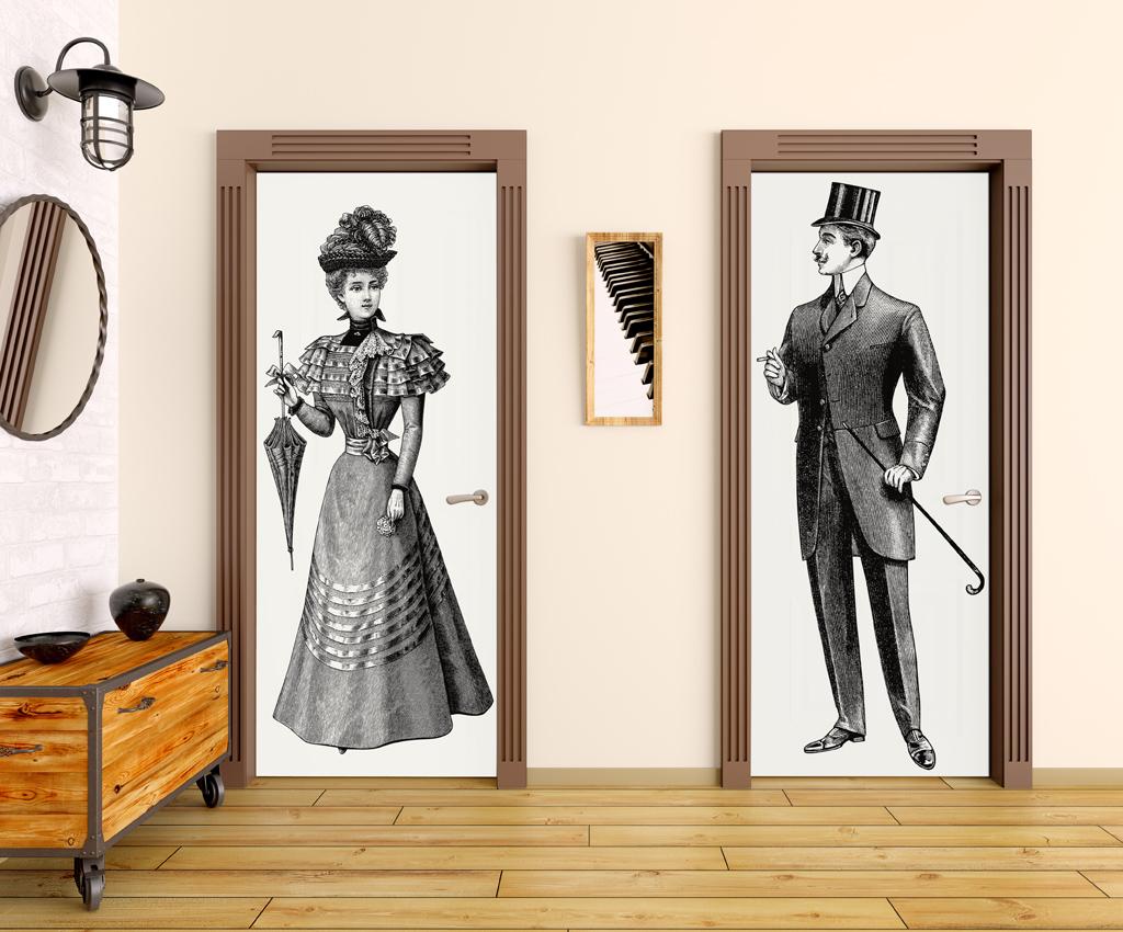 Papel pintado fotomurales adhesivos para puertas - Fotomurales para banos ...