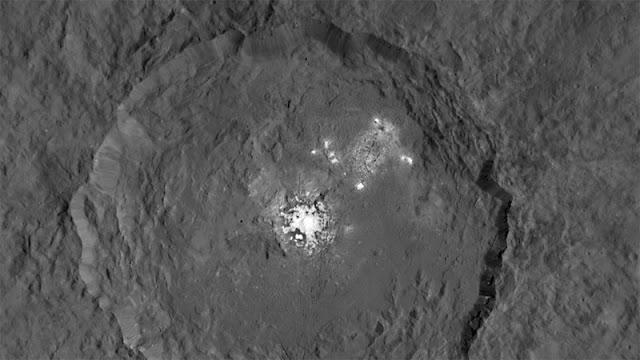 Ponto brilhante em Ceres - Sonda Dawn - NASA