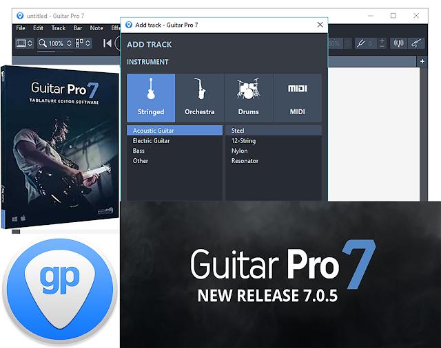 Dowload Guitar Pro 7.0.8 Build 1027 Full – Phần Mềm Chơi Nhạc Trên PC Mới Nhất 2018