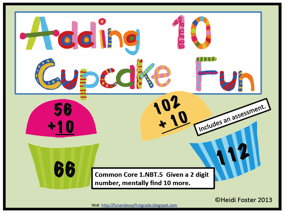 Fun And Easy First Grade Ideas Adding And Subtracting