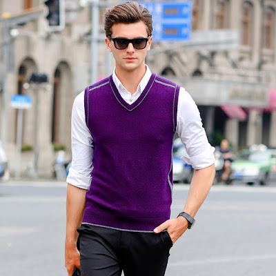 Sueter de moda para hombres