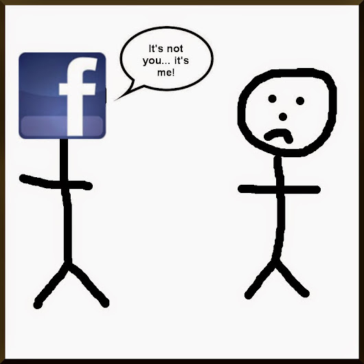 Breaking up with Facebook.....