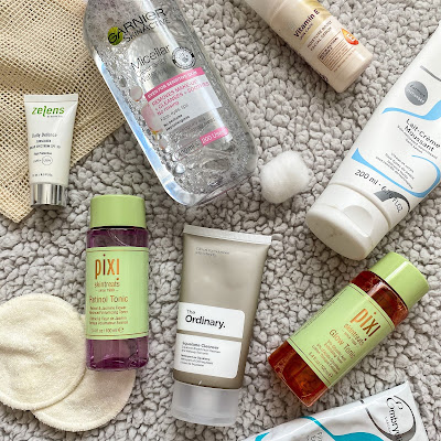 Current favourite skincare products and routine