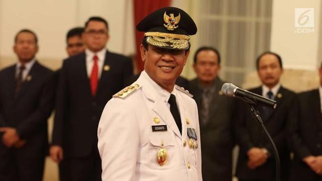 Gubernur Riau Positif Covid-19, Istana: Sudah Dilakukan Swab Sebelum Dilantik