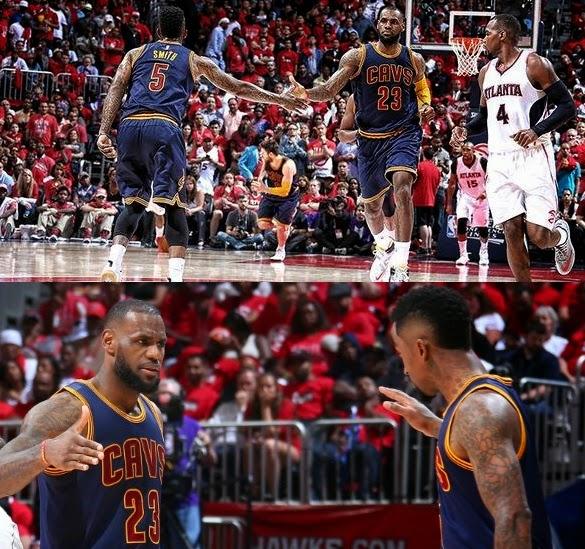 NBA Playoffs 2015 East Finals Game 1