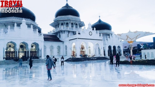 The Baiturrahman Grand Mosque has a long history