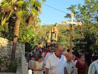 Sv. Ivan i Pavao, svečana procesija za fjeru - Ložišća slike otok Brač Online