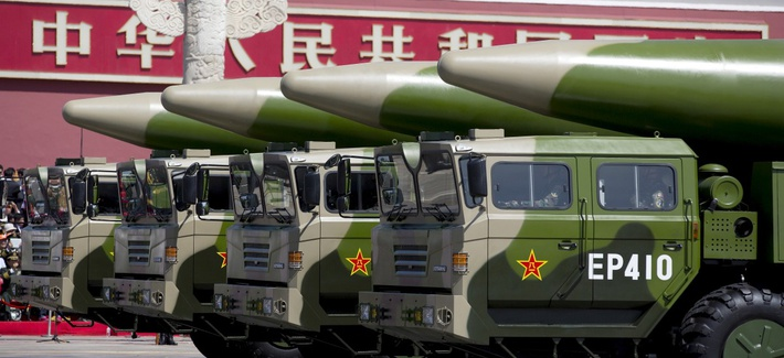 China's Nuclear Arms Development Unstoppable