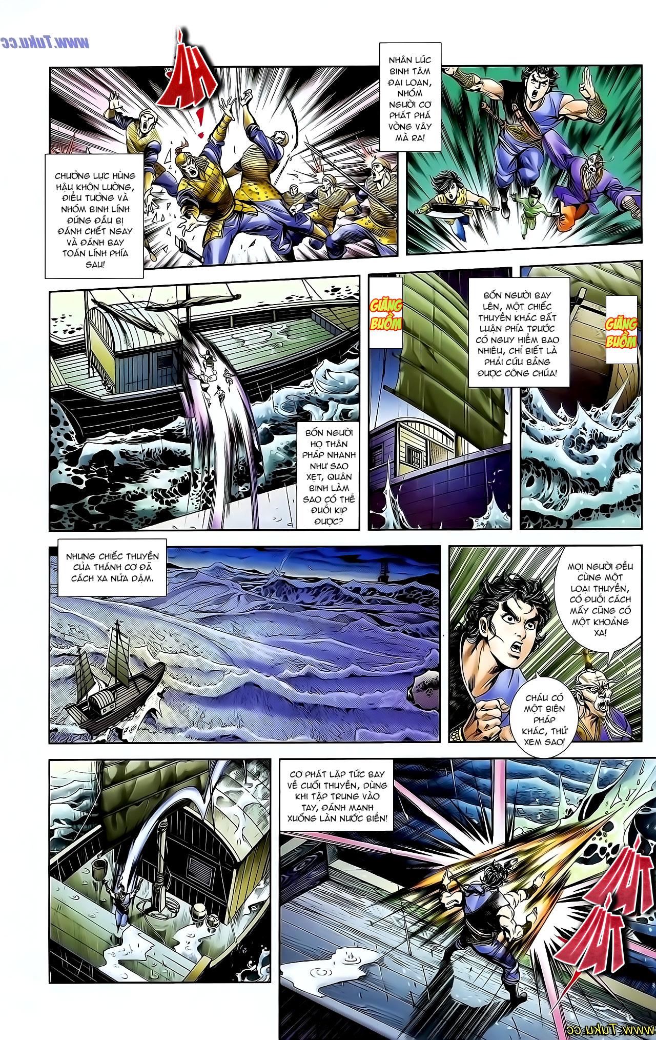 Cơ Phát Khai Chu Bản chapter 128 trang 24