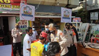 Kampung Tangguh Jaya  RW 04 Kel Mangga Dua Selatan dukung Program Jakarta Bermasker