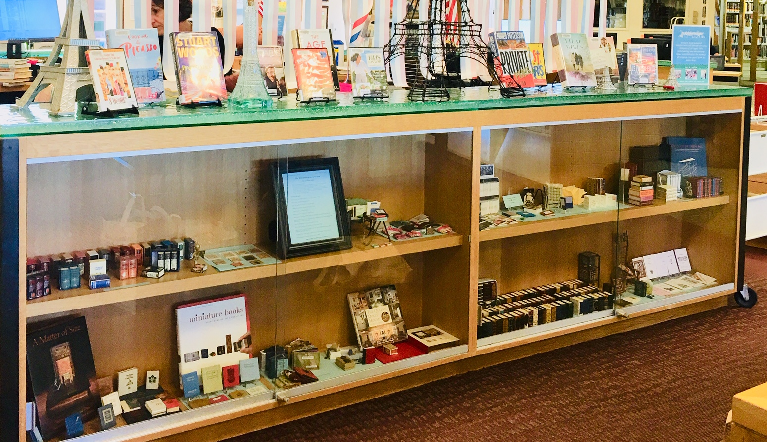 Eileen Verbs Books: SUMMER 2019 EXHIBITION OF MINIATURE BOOKS!
