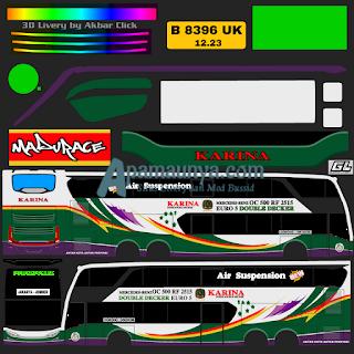 Download Livery Bus JB2+ SDD Karina
