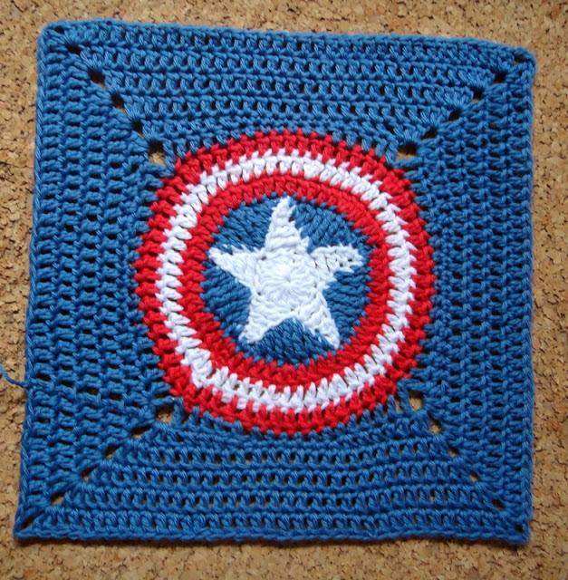 Colcha Érase una vez: Capitán América