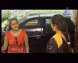 Serial Actress Shalu Menon Hot Boobs And Navel Show Mallu Actress