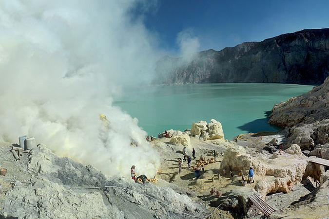 Dlium Ijen Volcano