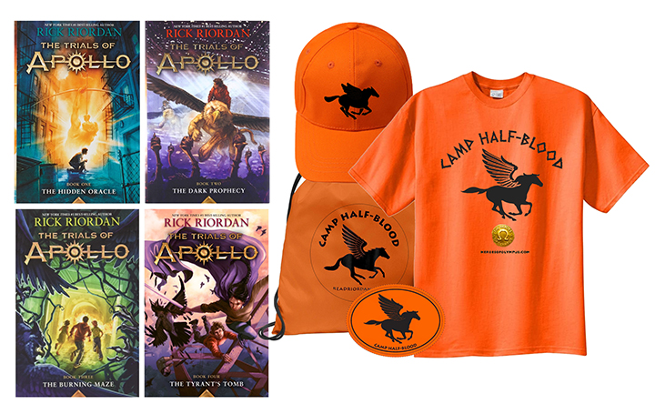 The Trials of Apollo Giveaway Prize Pack
