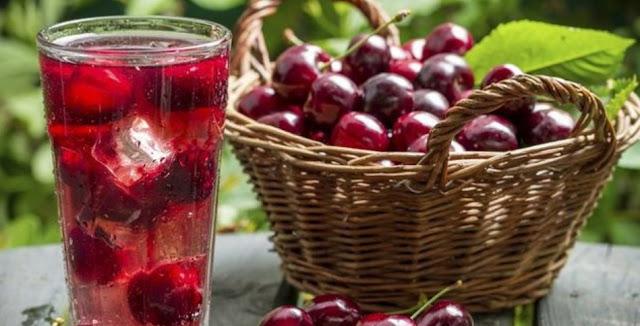 Mengobati Asam Urat dengan Jus Cherry