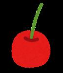 フルーツのマーク(さくらんぼ)