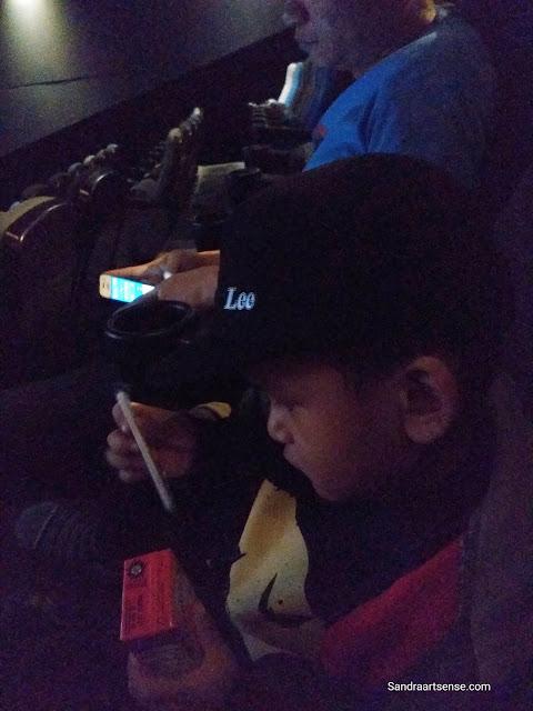 Pengalaman membawa anak ke Bioskop