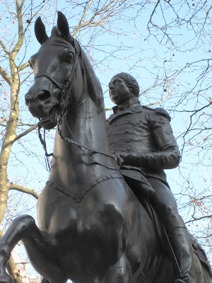 Equestrian statue of George III, Cockspur Street, London