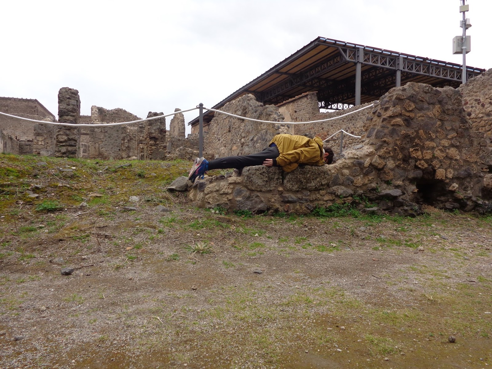 Planking in Pompeii - Rebe With a Clause