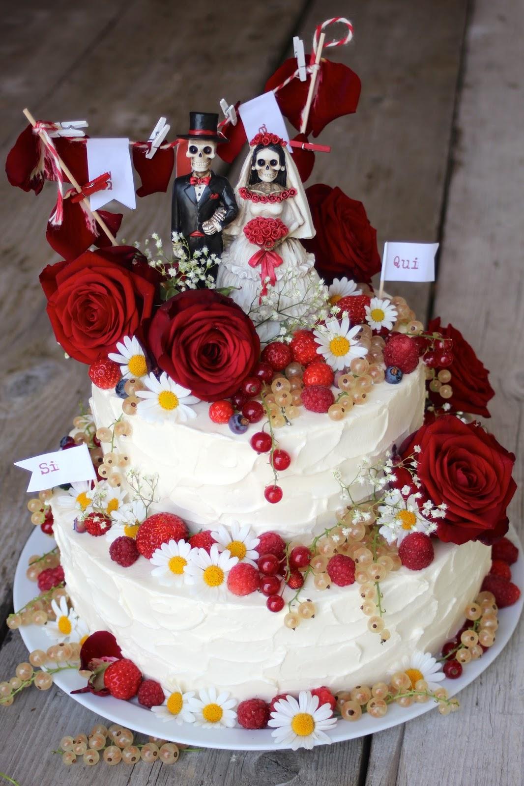 Paulas Frauchen Hochzeitstorte