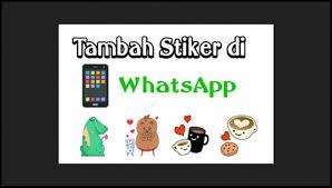 Cara Menambah Stiker di WhatsApp