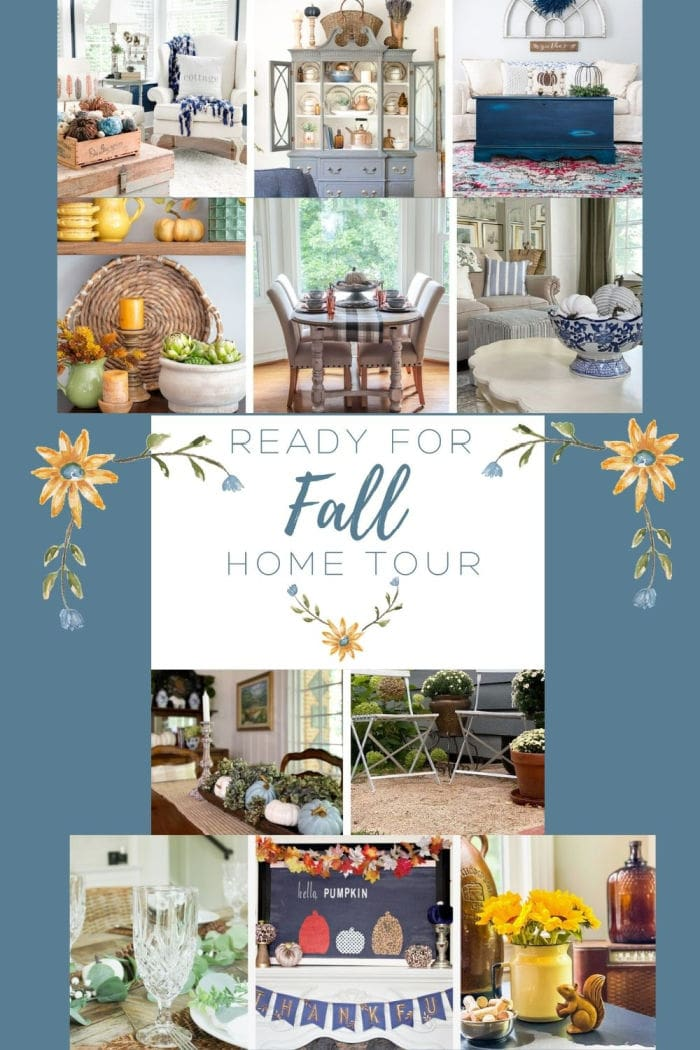 Ready for Fall home tour graphic