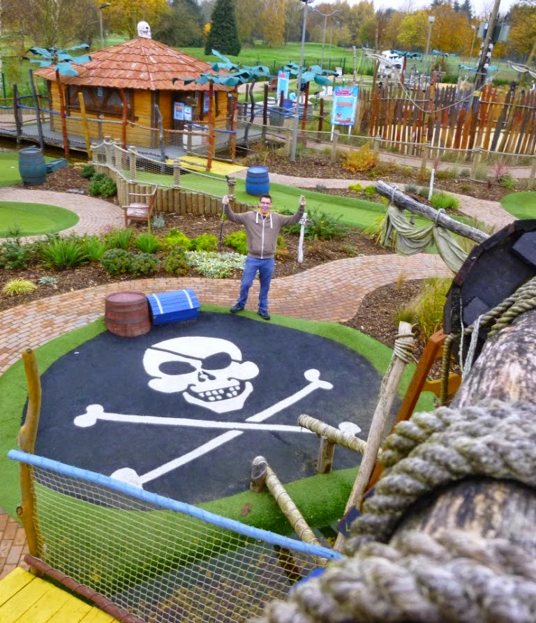 Adventure Mini Golf at Hoebridge Golf Centre in Woking