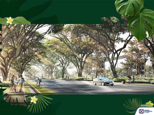 Podomoro Park di Terusan Buah Batu Bandung Selatan