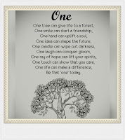 One tree cannot make a forest
