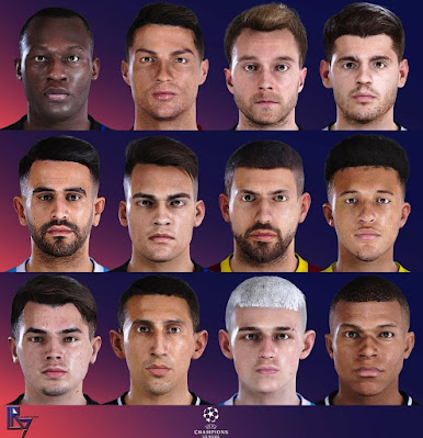 PES 2021 UCL Facepack Edition by LR7