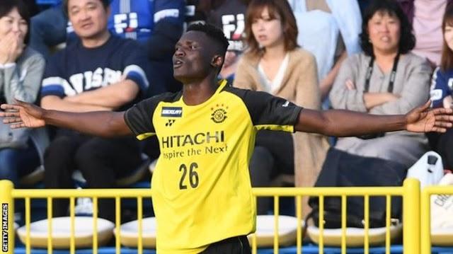 Meet Olunga, The Kenya Striker Who Scored 8 Goals In One Match (Photo)