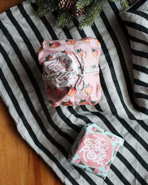 Bruk toalettpapiremballasjen fra The Good Roll som miljøvennlig gaveinnpakning