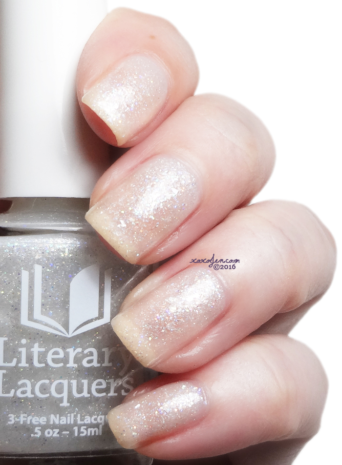 xoxoJen's swatch of Literary Lacquers My Whirlwind Other Half