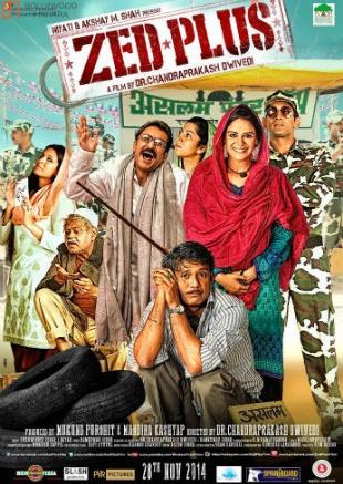 Zed Plus (2014) Full Hindi Movie Download HDRip 720p