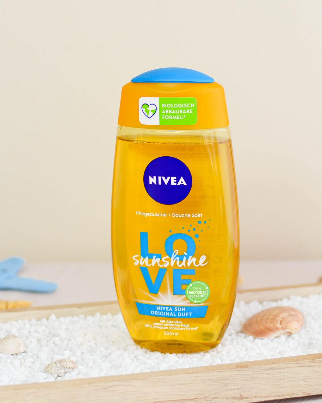 Nivea Love Sunshine Shower Gel