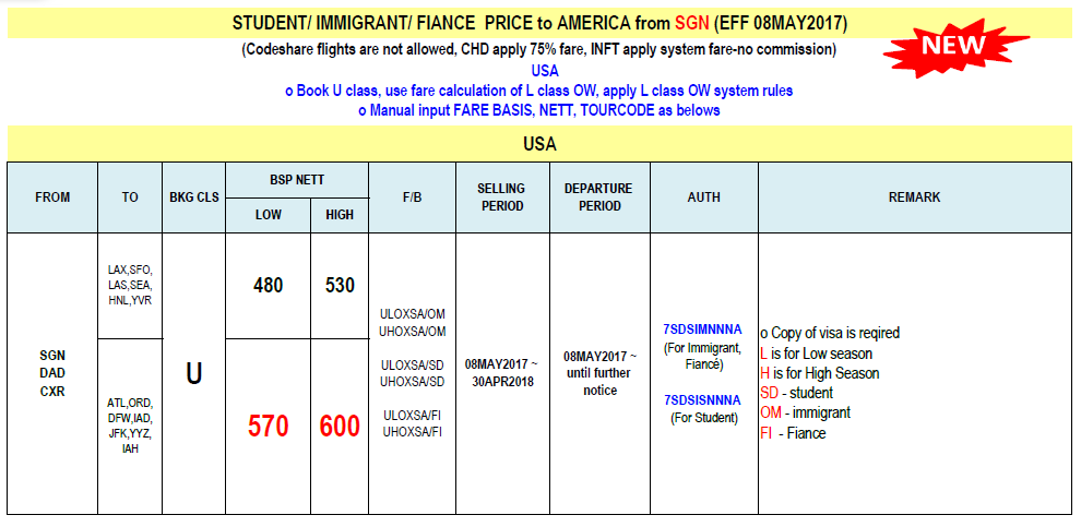Giá vé khuyến mãi Korean Air bay từ sài gòn đi du học và định cư