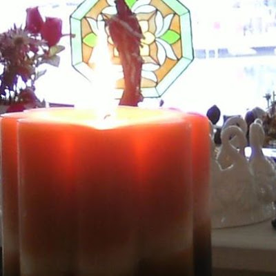 Mother Candle Donated to the Temple in 2013