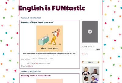 English is FUNtastic