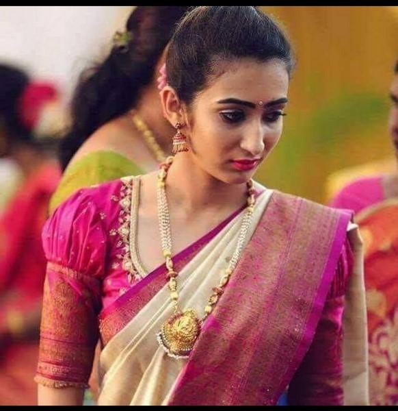 pure banaras handloom tusaar silk saree