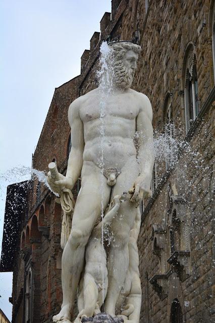 Fontaine de Neptune Florence