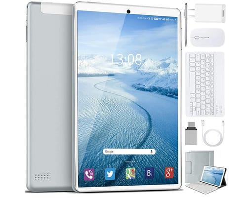 AOYODKG M8+ 10 inch Android Tablet with Keyboard