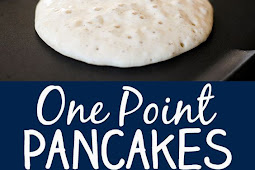 SKINNY ONE POINT WEIGHT WATCHER PANCAKES