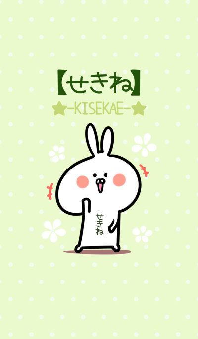 Sekine usagi green Theme